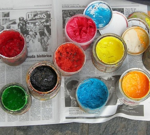 Turn a paint set gift into an art hobby
