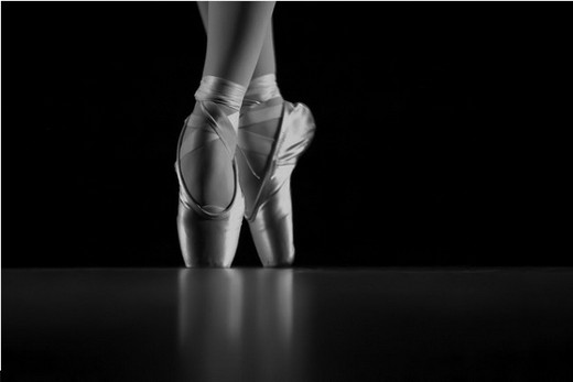 Gracefulness of ballet