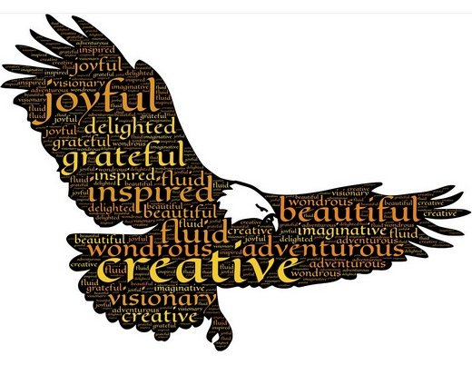 Be bold like an eagle in your creativity