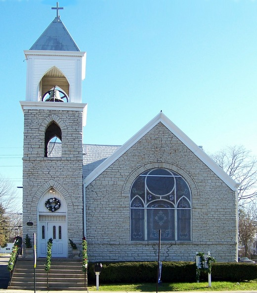 Small town church