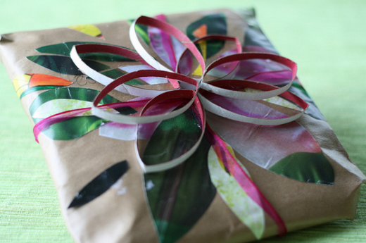 Turn your gift wrapping into a craft