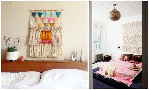 Yarn crafts for your bedroom