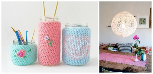 Spruce up your ordinary items with colour yarns
