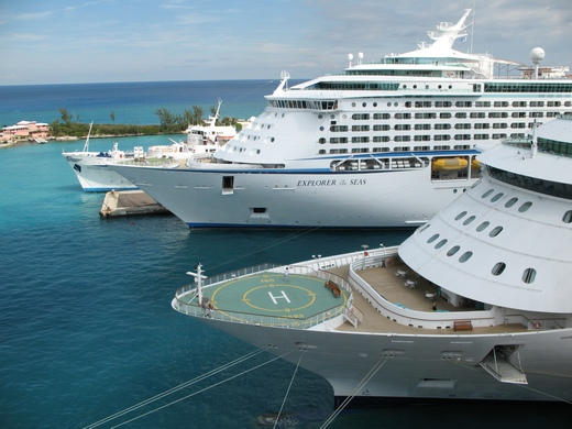 Explorer of the Seas luxury cruise ship