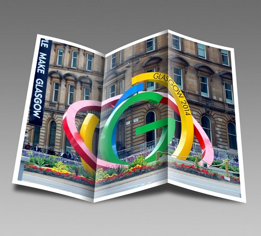 Glasgow 2014 Commonwealth Games pamphlet