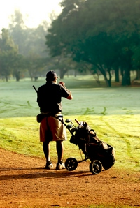 Golf is one of outdoor hobby ideas