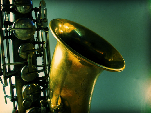 Saxophone is the staple of jazz music